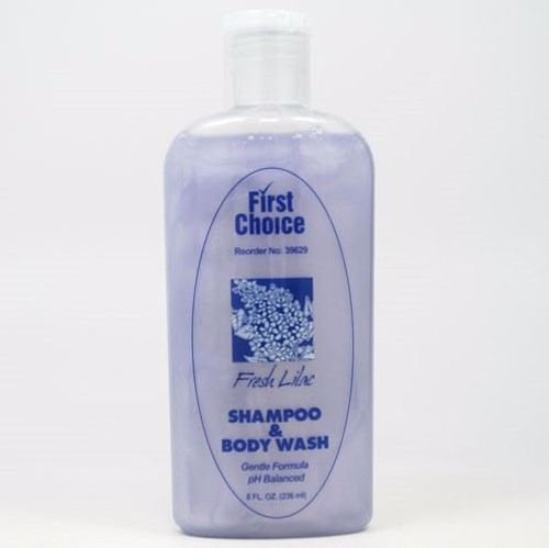 Picture of Shampoo & Body Wash - Lilac Scent - 8 oz.