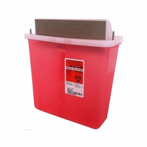 Picture of Sharps Container - Mailbox-Style Lid, 5 Qt