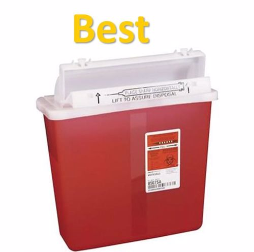 SharpStar™ In-Room™, Red Transparent - 5 Qt - Covidien - 1