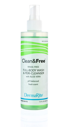 DermaRite - 00193 - Clean and Free - Product