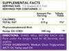 Rethink CBD Tincture Oil - 3000mg - 30 mL - Bottle - Label