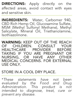 ReThink Cbd Pain Relief Cream - 250 mg - Label